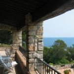 La terrasse exposée au sud